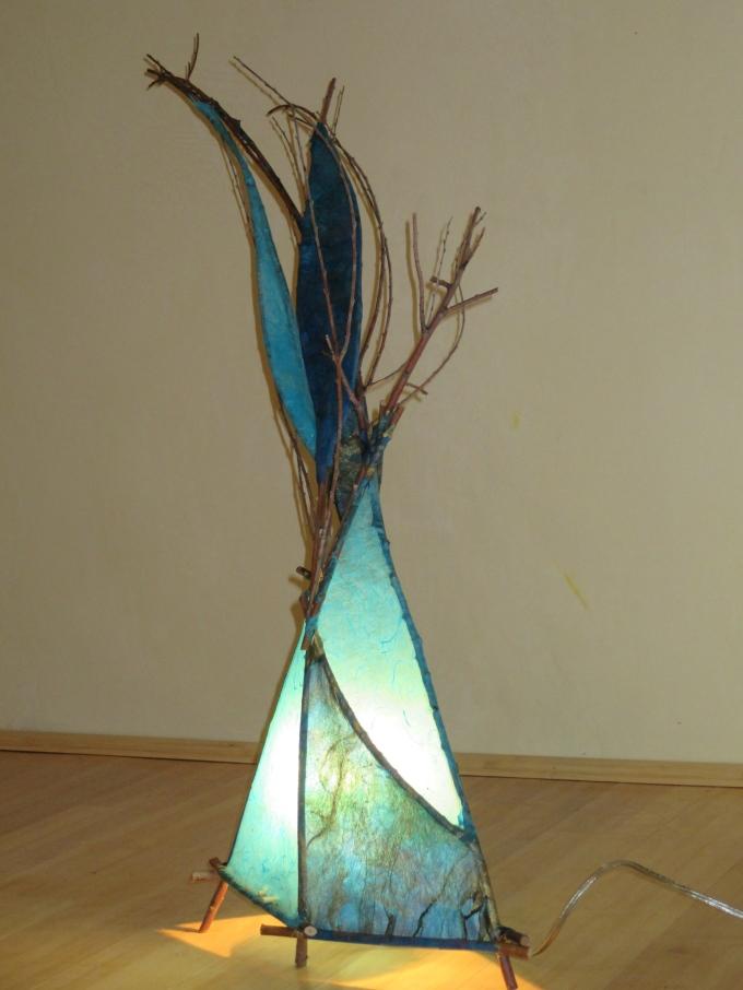 Blue tepee